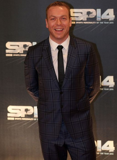 CH at BBC SPOTY 2014